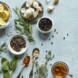 Herbs and crops for ovarian cyst home remedies.