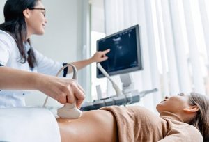Ultrasound monitoring as an alternative to ovarian cyst removal.
