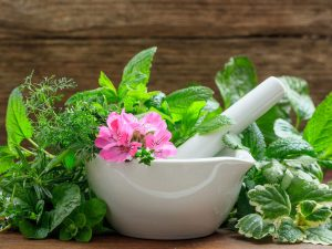 Herbal teas components for home remedy for thyroid nodules