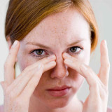 Nasal cyst treatment and diagnostics