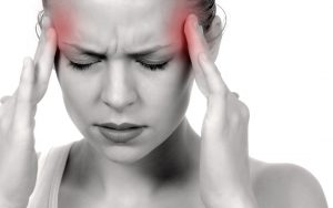 headaches due to colloid cyst