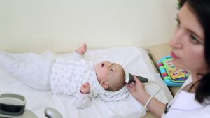 how goes the procedure of a cyst on baby brain ultrasound